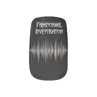 Paranormal Investigator Soundwave Nail Art