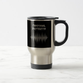Paranormal Investigator Soundwave Travel Mug