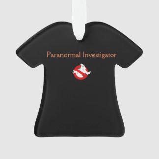 Paranormal T-shirt Ornament