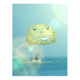 Parasailing Postcards