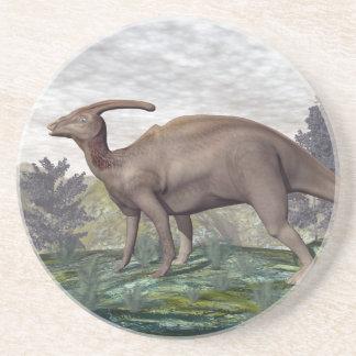 Parasaurolophus dinosaur - 3D render Coaster