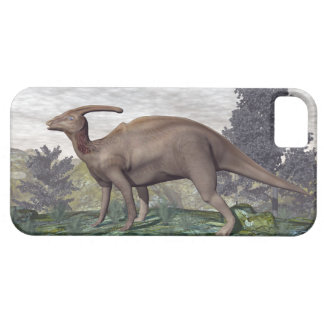 Parasaurolophus dinosaur among gingko trees case for the iPhone 5