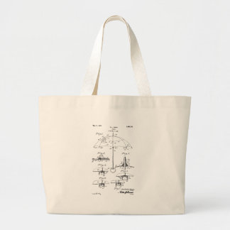 Parasol - Beulah Louise Henry, Inventor Large Tote Bag