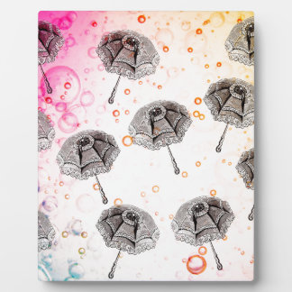 PARASOLS PATTERN PLAQUE