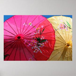 Parasols Poster