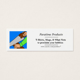 Paratime bookmark mini business card
