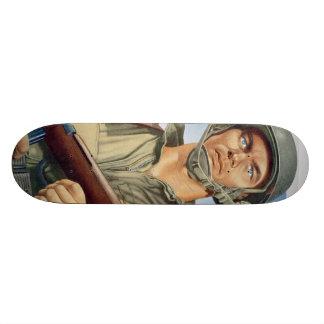 paratrooper custom skate board
