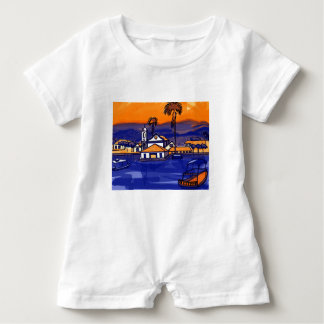 Paraty - Rio De Janeiro - Brazil Baby Romper