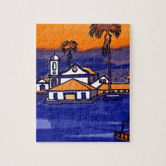 Paraty - Rio De Janeiro - Brazil Jigsaw Puzzle