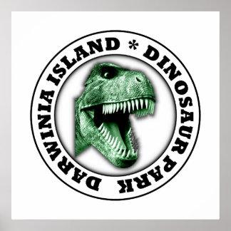 Parc de dinosaure poster