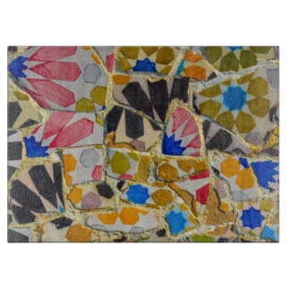 Parc Guell Ceramic Tiles in Barcelona Spain Boards