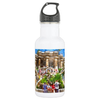Parc Guell in Barcelona Spain 532 Ml Water Bottle