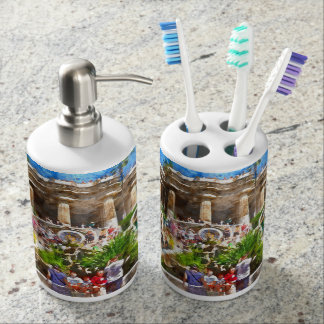 Parc Guell in Barcelona Spain Toothbrush Holders