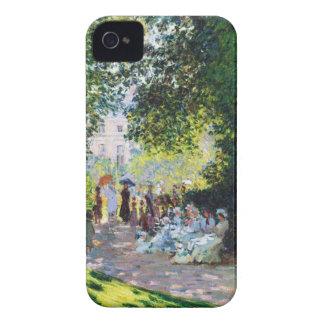 Parc Monceau Claude Monet painting iPhone 4 Cases
