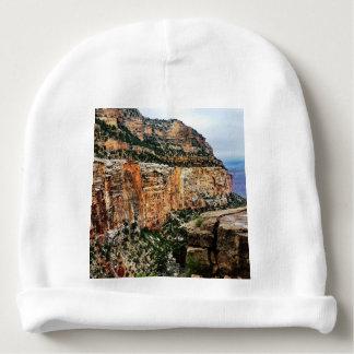 Parc national lumineux de canyon grand de traînée bonnet pour bébé