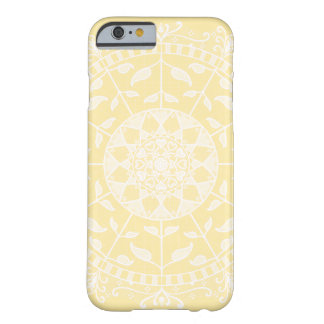 Parchment Mandala Barely There iPhone 6 Case