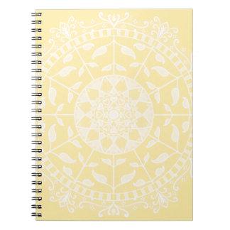 Parchment Mandala Notebook