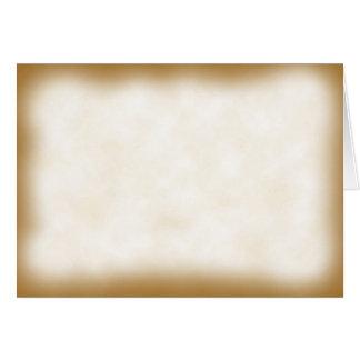 Parchment Note Card