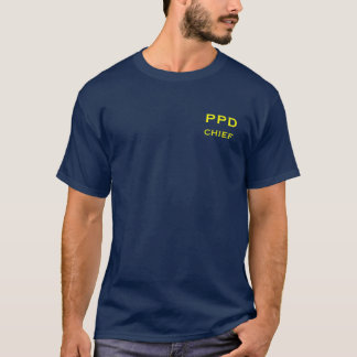 Pardise Police Department Navy Tee