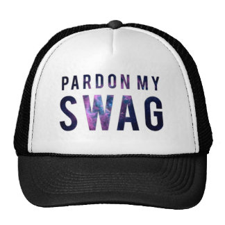 Pardon My Swag Snapback Trucker Hat