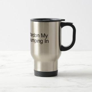 Pardonnez mon sauter dedans tasses