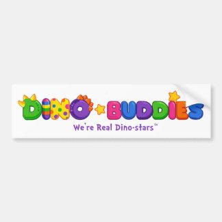 Pare-chocs de Dino-Buddies™ - logo 2 de DB Autocollant De Voiture
