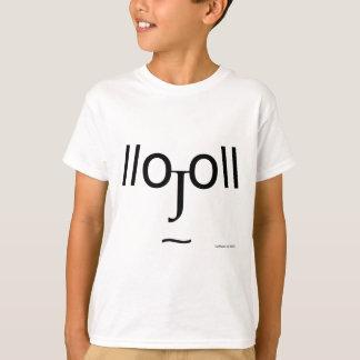 Pareidolia Emoticon T-Shirt