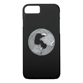 Parent and child turtle iPhone 8/7 case