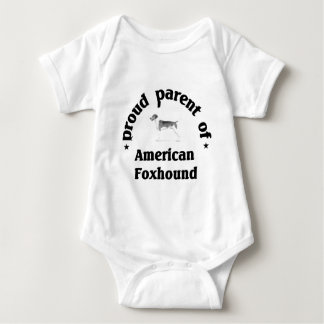 Parent of American Foxhound Baby Bodysuit
