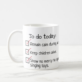 Parent To Do List Mug