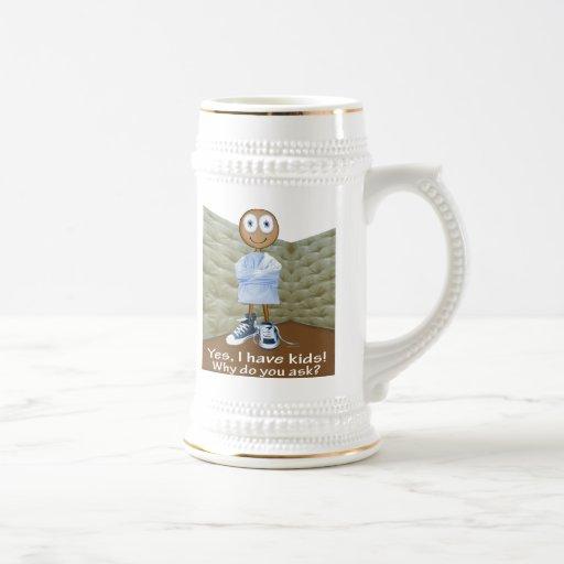 Parental Insanity - brown skin Coffee Mug