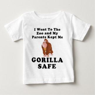 Parents Kept Me Gorilla Safe Baby T-Shirt