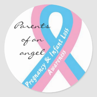 Parents of an angel Sticker