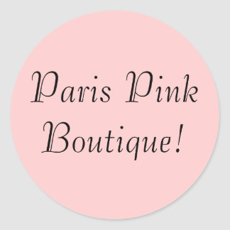 Paria Pink Boutique! Sticker