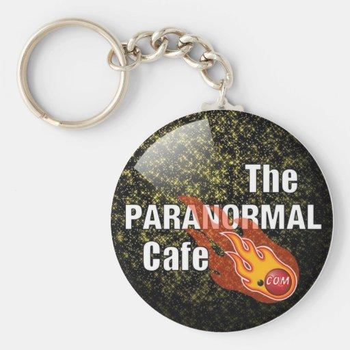 Parinormal Cafe Key Chain