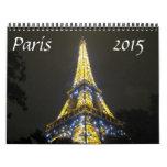 Paris 2015 calendrier mural