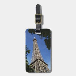 Paris 3 luggage tag