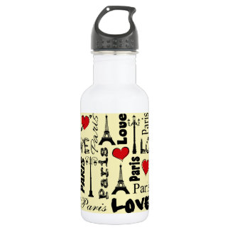 Paris 532 Ml Water Bottle