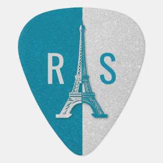 Paris   Adorable Glitter Eiffel Tower Guitar Pick