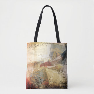 Paris Adventures  --  Tote with Class