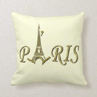 Paris American MoJo Pillows
