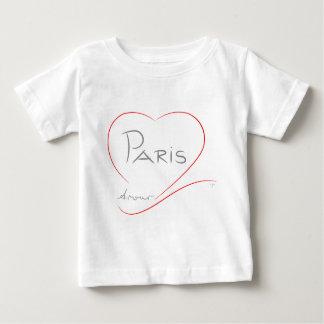 PARIS Amour (heart) Baby T-Shirt