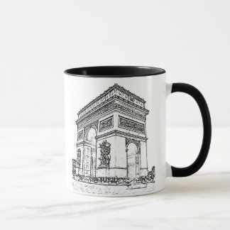 Paris ~ Arc de Triomphe Mug