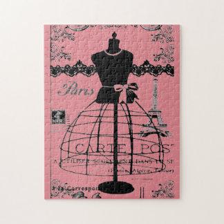 Paris Art Deco Jigsaw Puzzle