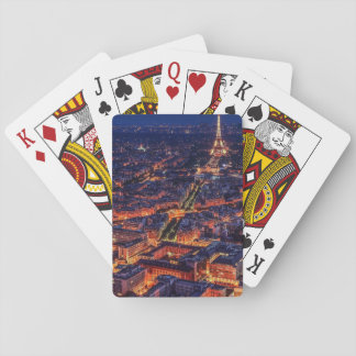 Paris at Night Playing Cards