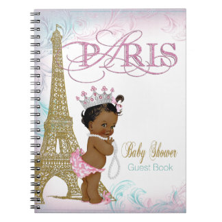 Paris Baby Shower Guest Book