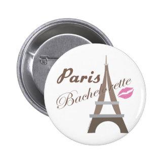 Paris Bachelorette Party Gear Pin