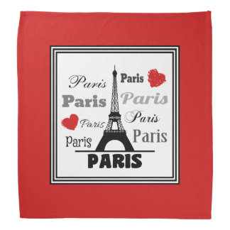 Paris Bandana