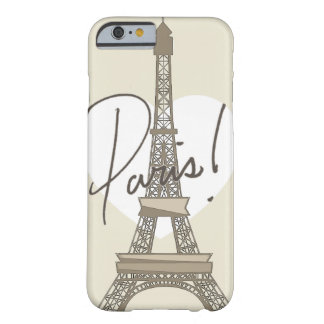 Paris! Barely There iPhone 6 Case