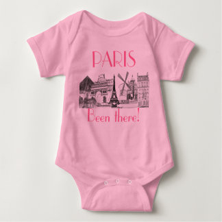 PARIS, Been there done that tank  t-shirt